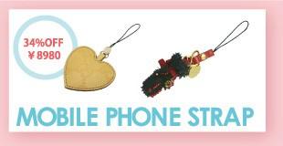 アウトレット・携帯ストラップ