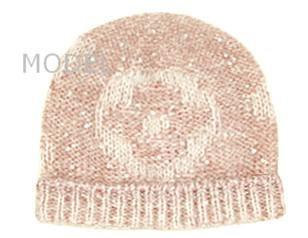 ルイヴィトン ニットキャップ 新作 ニット帽 ボネ・モノグラム グリッター ローズクレール M74770 商品コード LOUISVUITTON-005 商品画像 1