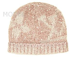 ルイヴィトン ニットキャップ 新作 ニット帽 ボネ・モノグラム グリッター ローズクレール M74770 商品コード LOUISVUITTON-005 商品画像 2