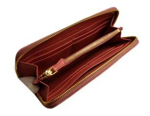 ミュウミュウ 財布 人気 長財布 クロコ型押し アンティークピンク ラウンドファスナー長財 5M0506 商品画像 1