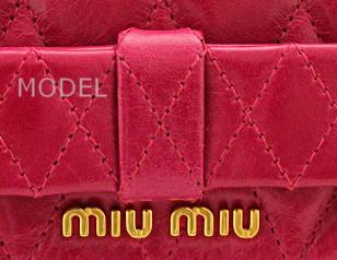 ミュウミュウ 財布 ピンク リボン 新作  5M1109 アウトレット 商品コード miumiu-outlet-062 商品画像 4