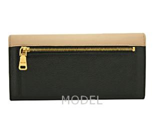 ミュウミュウ 財布 2014 新作 リボン バイカラー 長財布 レディース 5M1109 商品コード miumiu165 商品画像 2
