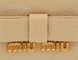 ミュウミュウ 財布 2014 新作 リボン バイカラー 長財布 レディース 5M1109 商品コード miumiu165 商品画像 4