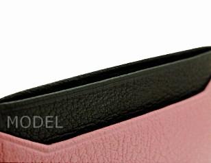 ミュウミュウ 名刺入れ カードケース 2015 新作 ピンク リボン バイカラー 5M0208 商品コード miumiu182 商品画像 3