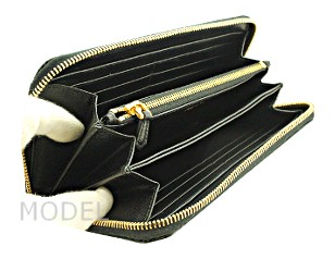 プラダ 財布 レディース 長財布 ラウンドファスナー サフィアーノ 1ML506 アウトレット 商品コード PRADA-OUTLET-048 商品画像 2