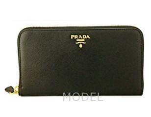 プラダ 財布 レディース 長財布 ラウンドファスナー サフィアーノ 1ML506 アウトレット 商品コード PRADA-OUTLET-048 商品画像 1