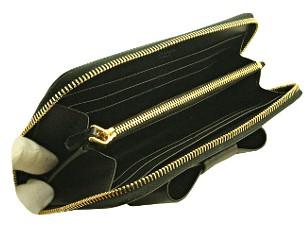 プラダ 財布 レディース リボン 長財布 黒/ブラック サフィアーノ 1M0506 アウトレット 商品コード PRADA-OUTLET-172 商品画像 3