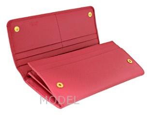 プラダ 財布 リボン ピンク レディース 長財布 人気 1M1132 アウトレット 商品コード PRADA-OUTLET-142 商品画像 3