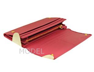 プラダ 財布 リボン ピンク レディース 長財布 人気 1M1132 アウトレット 商品コード PRADA-OUTLET-142 商品画像 4