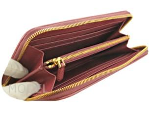 プラダ 財布 アウトレット 長財布 ラウンドファスナー  ピンク メッシュ  1M0506  商品コード PRADA-OUTLET-153 商品画像 4