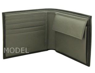 プラダ 財布 アウトレット 二つ折り財布 メンズ 黒/ブラック バイカラー 2M0738 商品コード PRADA-OUTLET-159 商品画像 2