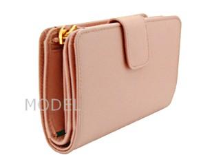 プラダ 財布 レディース 二つ折り財布 サフィアーノ ピンク 1M1225 アウトレット 商品コード PRADA-OUTLET-168 商品画像 2
