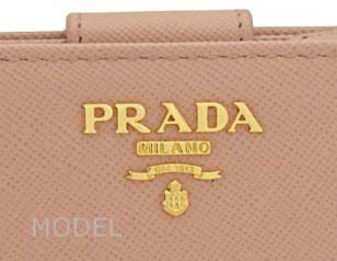 プラダ 財布 レディース 二つ折り財布 サフィアーノ ピンク 1M1225 アウトレット 商品コード PRADA-OUTLET-168 商品画像 3