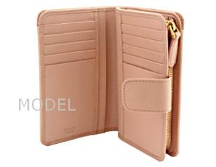 プラダ 財布 レディース 二つ折り財布 サフィアーノ ピンク 1M1225 アウトレット 商品コード PRADA-OUTLET-168 商品画像 4