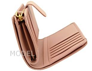 プラダ 財布 レディース 二つ折り財布 サフィアーノ ピンク 1M1225 アウトレット 商品コード PRADA-OUTLET-168 商品画像 5