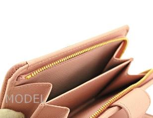 プラダ 財布 レディース 二つ折り財布 サフィアーノ ピンク 1M1225 アウトレット 商品コード PRADA-OUTLET-168 商品画像 6