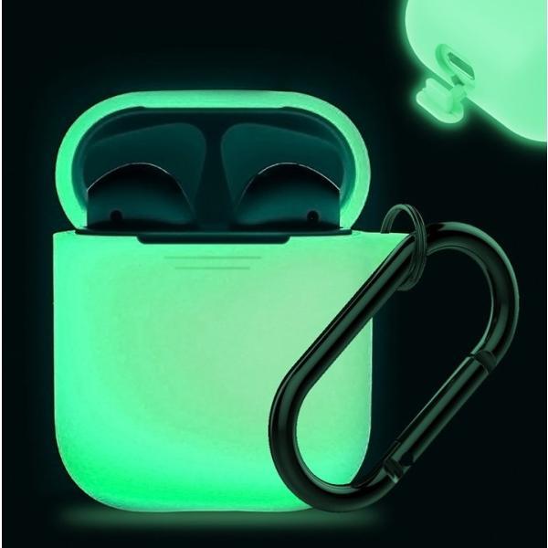 AirPods ケース おしゃれ 本体 カバー シリコン エアーポッズ  高品質シリコン ストラップ カラビナ で携帯に便利 AhaStyle|mokku-shop|12