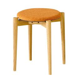 画像:スツール クローバ スタッキング 重ね対応 椅子 チェア ダイニングスツール シンプル お洒落