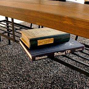 画像4:ダイニングベンチ ベンチ ケルト kelt 古材家具 アイアン家具 ベンチチェア 食卓椅子