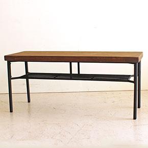 画像6:ダイニングベンチ ベンチ ケルト kelt 古材家具 アイアン家具 ベンチチェア 食卓椅子