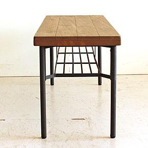 画像7:ダイニングベンチ ベンチ ケルト kelt 古材家具 アイアン家具 ベンチチェア 食卓椅子