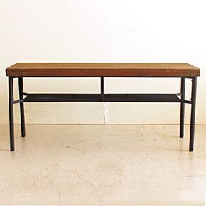 画像8:ダイニングベンチ ベンチ ケルト kelt 古材家具 アイアン家具 ベンチチェア 食卓椅子