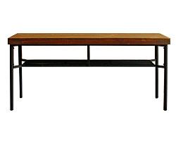 画像:ダイニングベンチ ベンチ ケルト kelt 古材家具 アイアン家具 ベンチチェア 食卓椅子