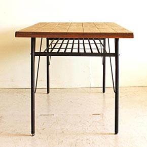 画像8:ダイニングテーブル ケルト 140 kelt 古材家具 アイアン家具 食卓テーブル センターテーブル
