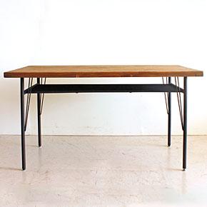 画像9:ダイニングテーブル ケルト 140 kelt 古材家具 アイアン家具 食卓テーブル センターテーブル