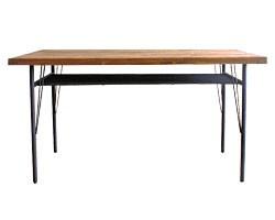 画像:ダイニングテーブル ケルト 140 kelt 古材家具 アイアン家具 食卓テーブル センターテーブル