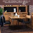 ダイニングテーブル テーブル COLT コルト 140 4点セット