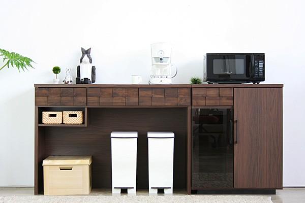 画像1:コルク 120 オープンカウンター COLK OPEN COUNTER キッチン収納 レンジ台