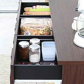 画像4:コルク 120 オープンカウンター COLK OPEN COUNTER キッチン収納 レンジ台