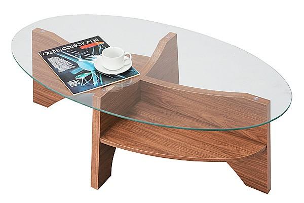 画像2:オーバルテーブル センターテーブル LE-454