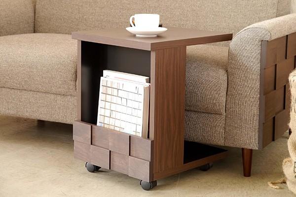 画像1:サイドテーブル ブックシェルフ コルク COLK