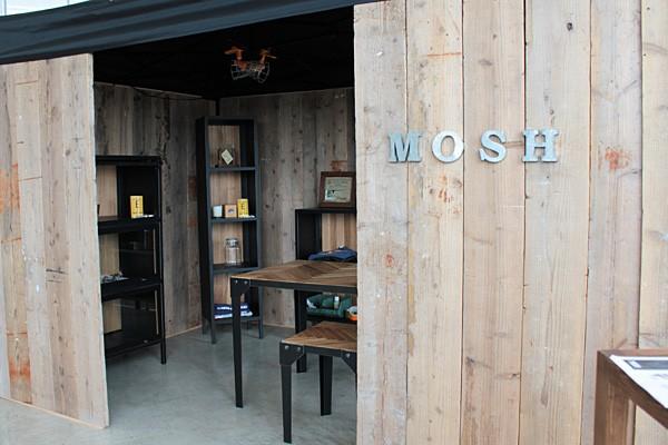 画像1:シェルフ ルモ H ディスプレイラック ラック 180 収納棚 MOSH