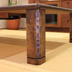 画像4:高級材 こたつ 千年KR 135 座卓 こたつ コタツ 家具調こたつ 炬燵 座卓 こたつテーブル