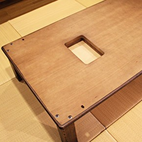 画像6:高級材 こたつ 千年KR 135 座卓 こたつ コタツ 家具調こたつ 炬燵 座卓 こたつテーブル