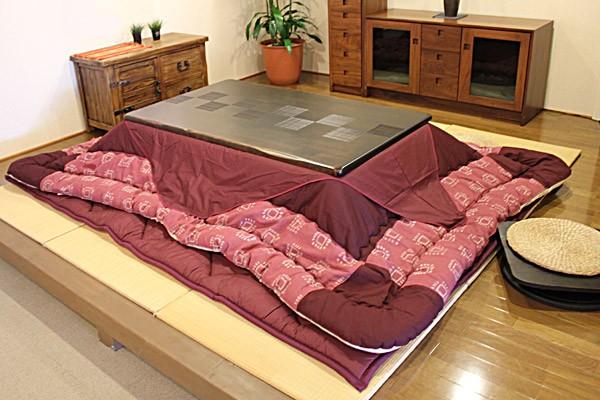 画像9:高級材 こたつ 千年KR 135 座卓 こたつ コタツ 家具調こたつ 炬燵 座卓 こたつテーブル