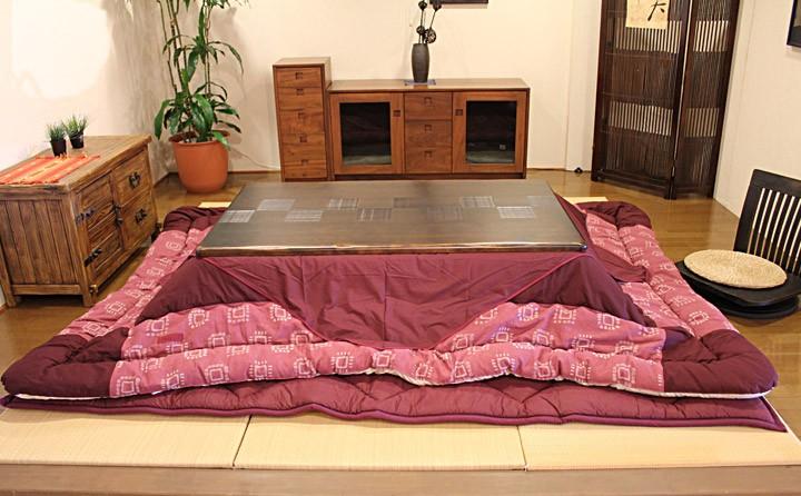 イメージ画像:高級材 こたつ 千年KR 135 座卓 こたつ コタツ 家具調こたつ 炬燵 座卓 こたつ布団セット