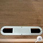 画像:テレビ台 ロータイプ テレビボード Quredo(クレド)160TVボード ブラウン AVラック 上部配線穴