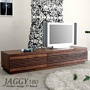 JAGGY(ジャギー)180テレビボード W/B