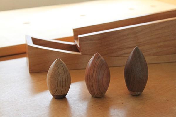 画像2:DONGURI 木のおもちゃ DONGURI ドングリ グッドデザイン賞 木製玩具 飛鳥工房 手作りおもちゃ 知育玩具