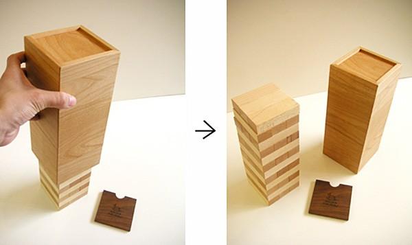 画像3:オン・ザ・ブロック 木製 (名前入れ1ヵ所込) 手作りおもちゃ