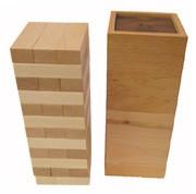 画像:オン・ザ・ブロック 木製 (名前入れ1ヵ所込) 手作りおもちゃ