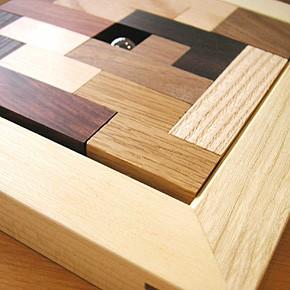 画像3:ポリキューブパズル12P 木製 木のおもちゃ 手作りおもちゃ