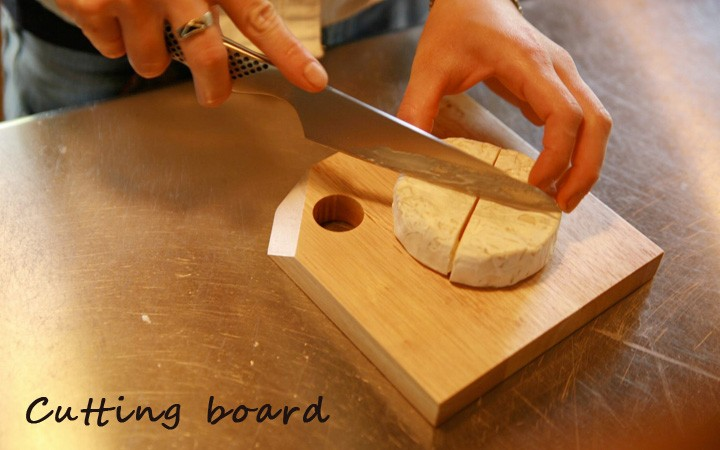 イメージ画像:カッティングボード M (名前入れ1ヵ所込) 手作りおもちゃ