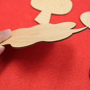 画像14:木の雑貨 めでたい菓子敷 木製雑貨 菓子敷き ギフト お祝 福 プレゼント 飛鳥工房