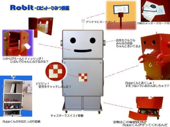 子供家具ロボット,ロビット