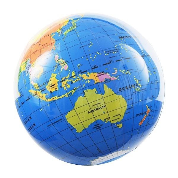 地球儀ビーチボール 30cm